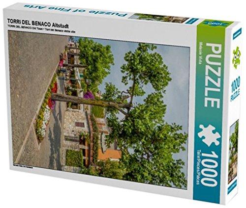 Preisvergleich Produktbild TORRI DEL BENACO Altstadt 1000 Teile Puzzle hoch: Am Gardasee (CALVENDO Orte)
