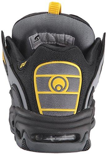 Osiris D3 black/yellow/charcoal Multicolor
