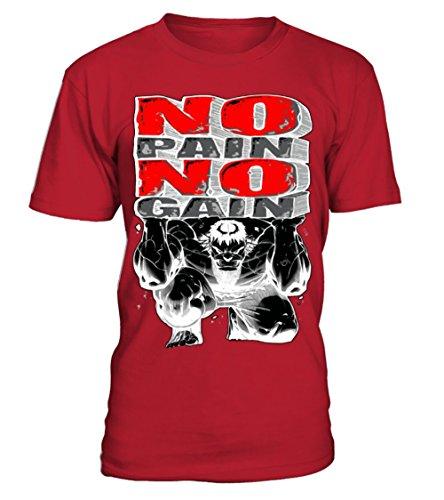 No Pain No Gain - Hulk 1 T-shirt Homme Teezily