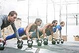 KettleBell »PowerMonster« Kugelhantel 2kg bis 20 kg / Handgewicht aus Kunststoff / High Performance Studio-Qualität ideal für Krafttraining, Functional-Training, Gymnastik und Heimtraining / 10kg / grün -
