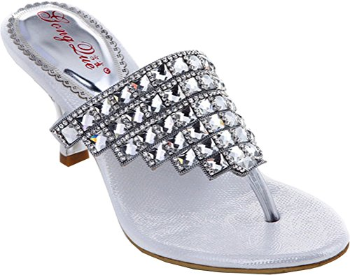 CFP ,  Damen Sling Backs Silvery