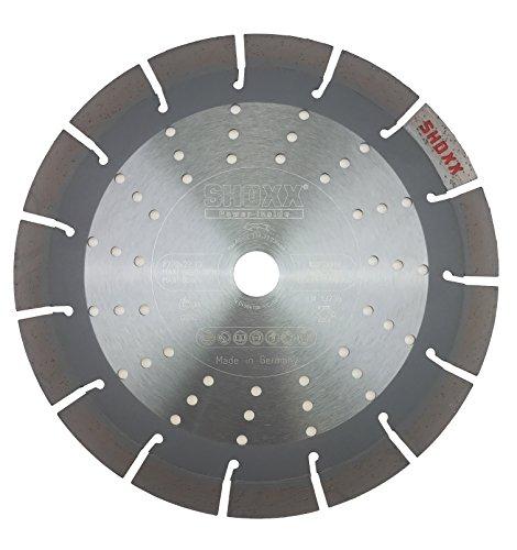 PRODIAMANT Profi Diamant–Disque à tronçonner le béton/granit Oxx 230mm/22,2mm, gris, PDX82.118230mm