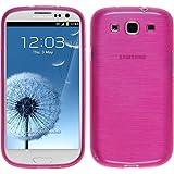 PhoneNatic Samsung Galaxy S3 NEO pink Silikon Hülle mit 2 Schutzfolien