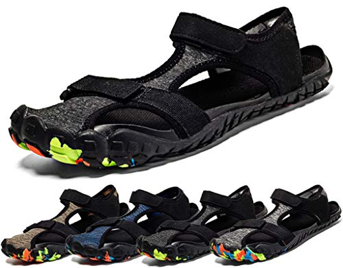 Sandali sportivi uomo donna estivi spiaggia sandali asciugatura rapida scarpe da acqua casuale punta chiusa sandalo piscina mare escursionismo all'aperto