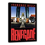 Terence Hill Bud Spencer Leinwand - Kino - Renegade - Renato Casaro Edition (80 x 120 cm)