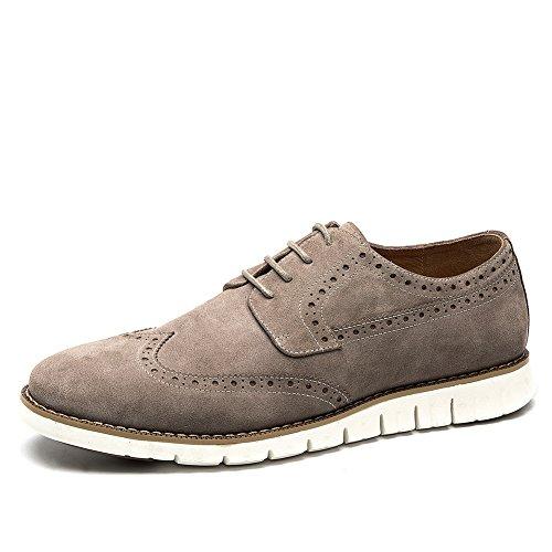 England Herren Desert Boot (Brock, geschnitzt in den Frühling-Schuhen/England Schuhe/Wilde Freizeitschuhe-C Fußlänge=25.8CM(10.2Inch))