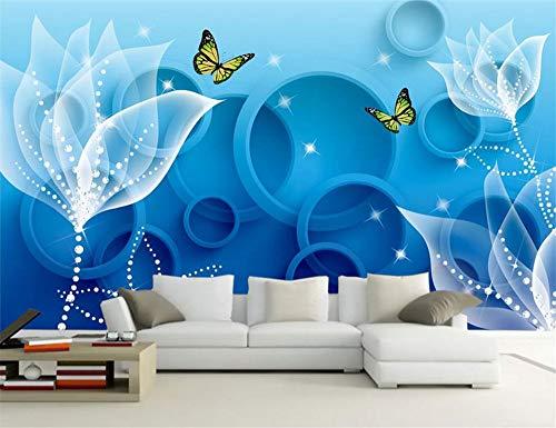 CHTTERY foto wohnzimmer dekoration rchid schlafzimmer hd tv sofa hintergrundbild 3d große wandbilder tapeten wohnkultur, 300x210 cm (118,1 by 82,7 in)