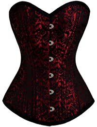 Corsets365 Rouge Corset Serre Taille HB-002