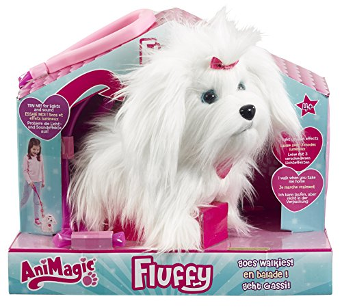 (Vivid Animagic 31150.4300 - Elektronische Haustier Hund, Fluffy)