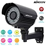 KKmoon KKmoon KKMOON TP-E225iRE Caméra Etanche extérieure CCTV 1/3' Sony CMOS 1200TVL 72IR LED IR-CUT 2.8 ~ 12 mm Zoom focale variable
