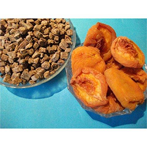 Gehackte Pfirsichstücke getrocknet, ungezuckert und ungeschwefelt 500g von Schmütz-Naturkost