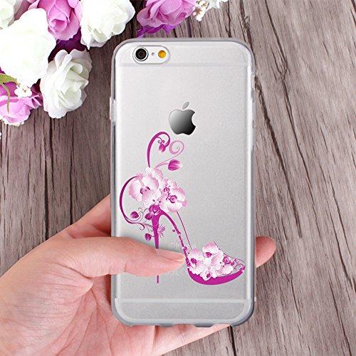 Ooh.Color® Fitty Patterns Design Case Cover Per iPhone Custodia Protettivo elastico Print Pattern Transparent Motiv duenne flexibele lusso custodia slim silicone TPU Disegno 23