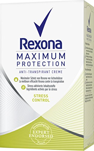 Rexona Deo Cremestick Women Maximum Protection Stress Control Anti-Transpirant, 45 ml