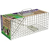 Defenders Animal Trap (Humane Cage Trap for Squirrels and Small Wildlife, Indoor and Outdoor Use)