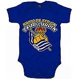 Body bebé Nacido para ser un Txuri Urdin Real Sociedad