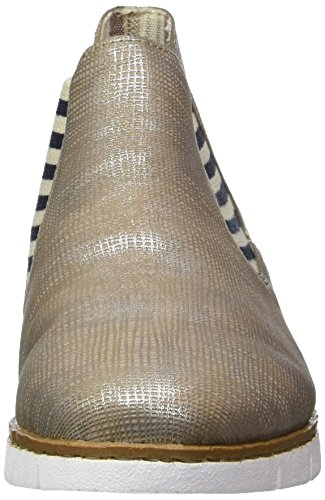 Rieker - M1390, Stivaletti Donna Beige (fango-silver / 64)