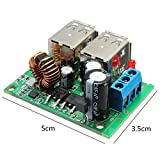 Generic NV _ 1001005684_ yc-uk25A dctep Konverter Modul 12V OWER verstellbar USB Y Con 24V 40V auf R MOD Step-Down-Stromversorgung 2V 24Anglerstuhl 5V 5A DC Adjusta