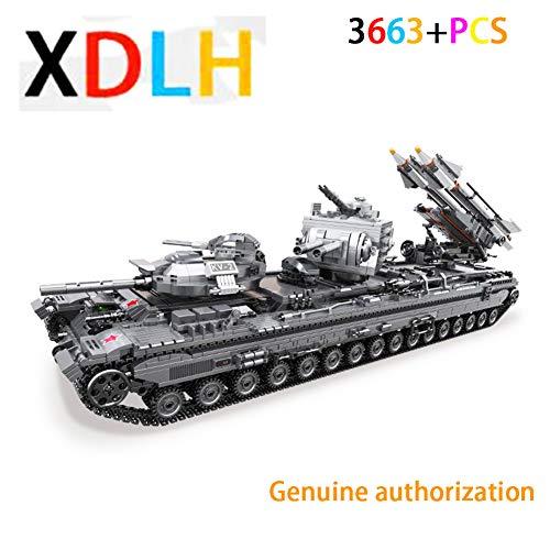 XDLH 3663 + Pcs Modell Tank Wars/Rakete Modell Wagen Komponente Plug-in - Kinder pädagogische Bausteine Spielzeug