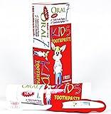 Oral7 Kids Zahnpasta. Mit den Enzymen der Muttermilch. Für Kinder von 2-10 Jahren