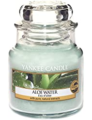 Yankee Candle 1332178E Bougie parfumée Eau d'aloe vera 104 g en jarre Vert