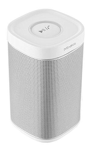 Mindkoo-Mini-Altoparlante-Stereo-Bluetooth-V40-Ultra-Portabile-Intelligente-Wireless-Speaker-Senza-fili-Ricaricabile-Impermeabile-allaperto-Campeggio-Trekking-Viaggi-Spiaggia-Colore-Bianco