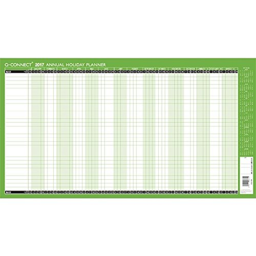 q-connect-2017-holiday-planner-unmounted-pack-of-1