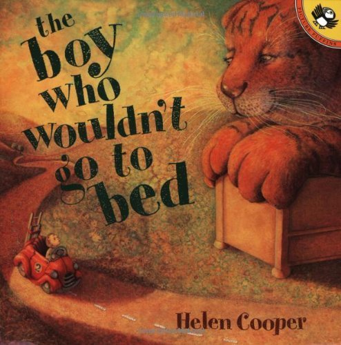 The Boy Who Wouldn't Go to Bed (Picture Puffins) by Cooper, Helen (2000) Paperback