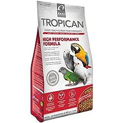 Tropican Alimentopara Loros con Formula Alta Energía -820gr