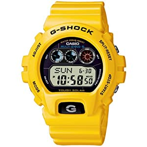 Reloj de caballero CASIO GW-6900-9ER de cuarzo, correa de resina color amarillo de Casio
