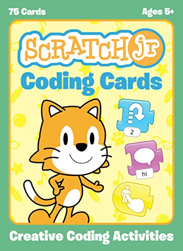 ScratchJr Coding Cards: Creative Coding Activities (Flash Maker Card)