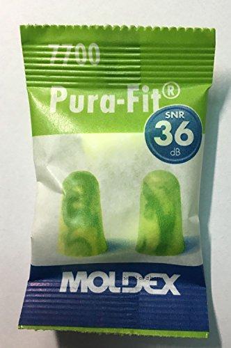 Tapones Moldex pura Fit 7700, 25pares + Caja 3m, SNR = 36dB, protección auditiva, tienda wadle®