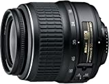 Nikon 18-55 mm/F 3.5-5.6 AF-S G DX ED II 18 mm-Objektiv (Nikon F-Anschluss,Autofocus)