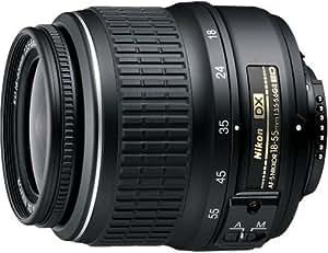 Nikon 18-55 mm / F 3.5-5.6 AF-S G DX ED II 18 mm-Objektiv ( Nikon F-Anschluss,Autofocus )