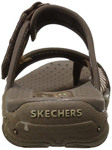 Skechers 46444 Rasta Reggae, Tanga da donna Marrone (CHOCOLATE CHOC)