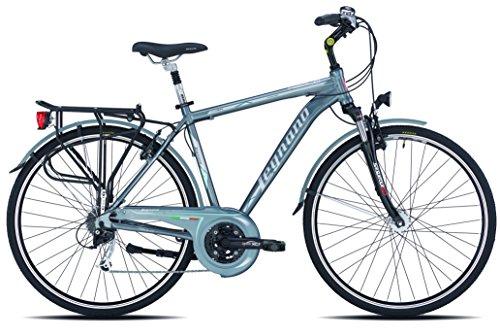 Legnano Ciclo 400 Asolo, City Bike Uomo, Grigio, 48