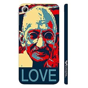 HTC Desire 826 Gandhi Love designer mobile hard shell case by Enthopia