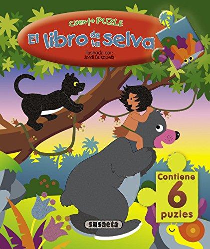 Libro De La Selva, El (S0690003) (Cuento Puzle) por Equipo Susaeta