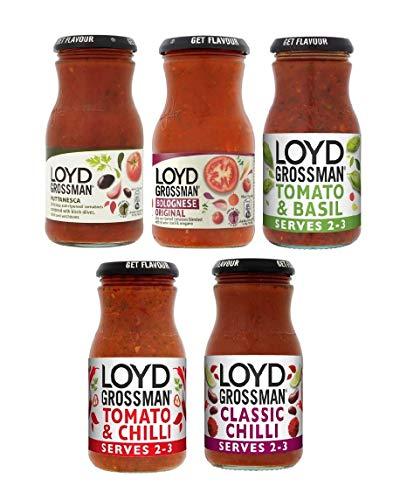 Loyd Grossman Pasta Sauce (350g (Pack of 5))