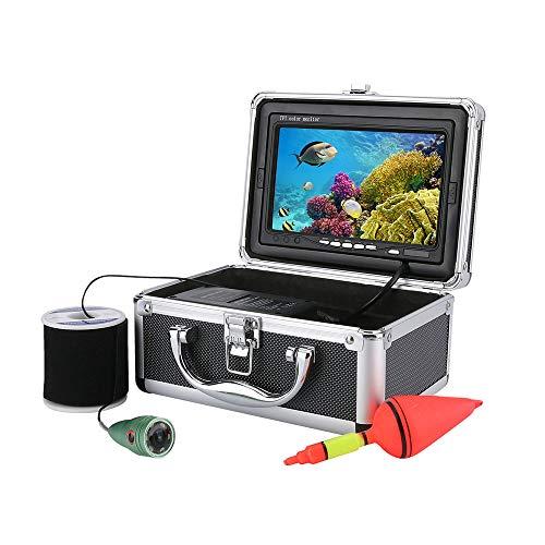 Unbekannt Drahtloses WiFi intelligentes Unterwasser-Angelgerät, 7-Zoll-HD-optisches Angelgeräte-Überwachungssystem, Unterwasserkamera,50m