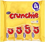 Cadbury Crunchie 4 Bars (Pack of 5, Total 20 Bars)