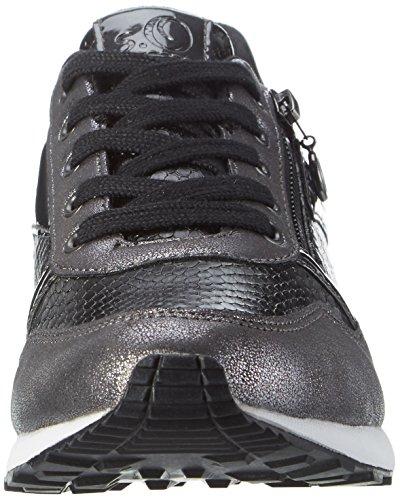 s.Oliver Damen 23655 Sneakers Schwarz (BLACK COMB 98)