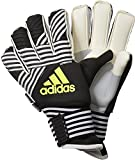 adidas Erwachsene Ace Trans Ultimate Torwarthandschuhe, Core Black/White/Solar Yellow, 9