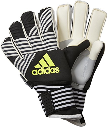 adidas Erwachsene Ace Trans Ultimate Torwarthandschuhe, Core Black/White/Solar Yellow, 7