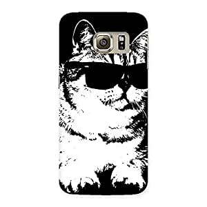 Thug Cat Back Case Cover for Samsung Galaxy S6 Edge Plus