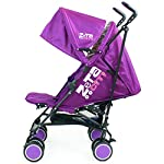 Zeta Citi Stroller Buggy Pushchair - Plum