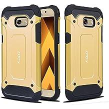 Funda para Galaxy A5(2017), J&D [Armorbox] [doble capa], funda protectora híbrida resistente a prueba de golpes para Samsung Galaxy A5(lanzamiento de 2017)