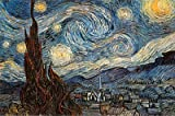 Vincent Van Gogh (The Starry Night) Art Print Maxi Poster - 61x91 cm - Laminated Posters - amazon.co.uk