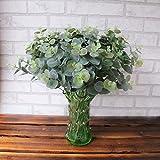 Künstlich Eukalyptus Verlassen, Lenfesh Fake Simulation Blätter Hochzeit Feier Zuhause Dekor (Grün)