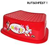 alles-meine.de GmbH Anti Rutsch - Trittschemel / Tritthocker / Kindersitz -  Disney Minnie Mouse ..