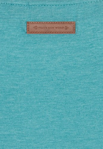 Naketano Female Shortsleeve Schnella Baustella III fresh blue melange